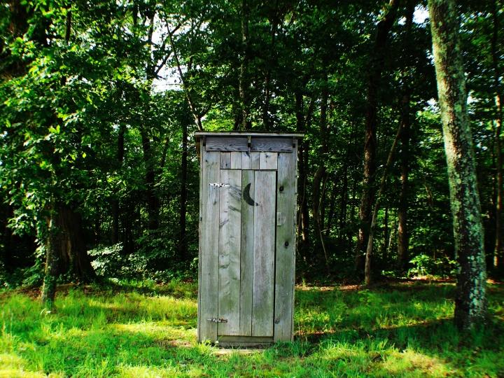 bajamaja toalett skräp