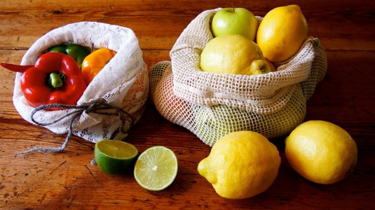 fruktpåsar nätpåsar