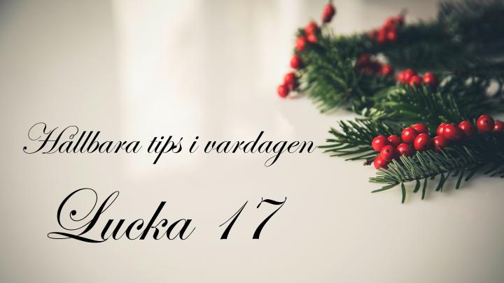 gronamoment.se hållbar julkalender