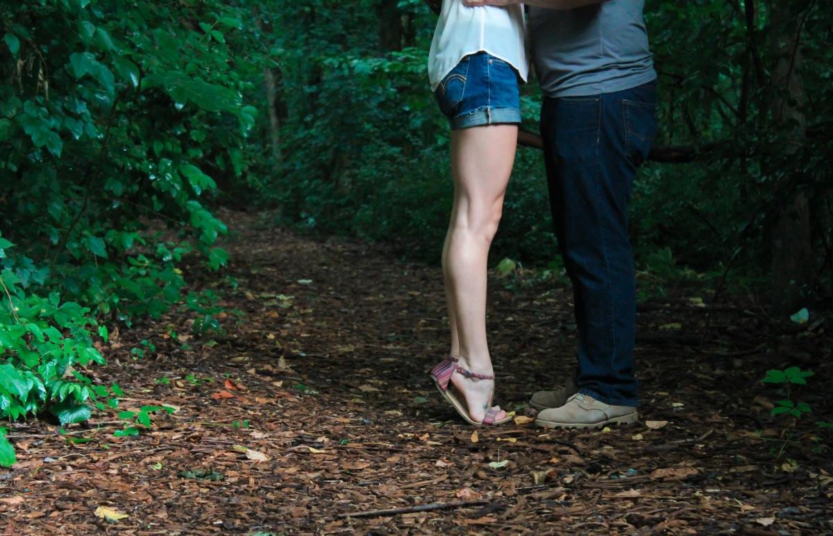 träd skog kärlek