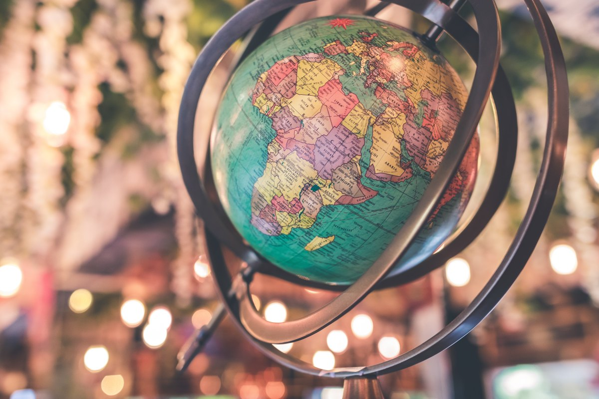 Jordens Dag 2018 Jordglob Earth Day