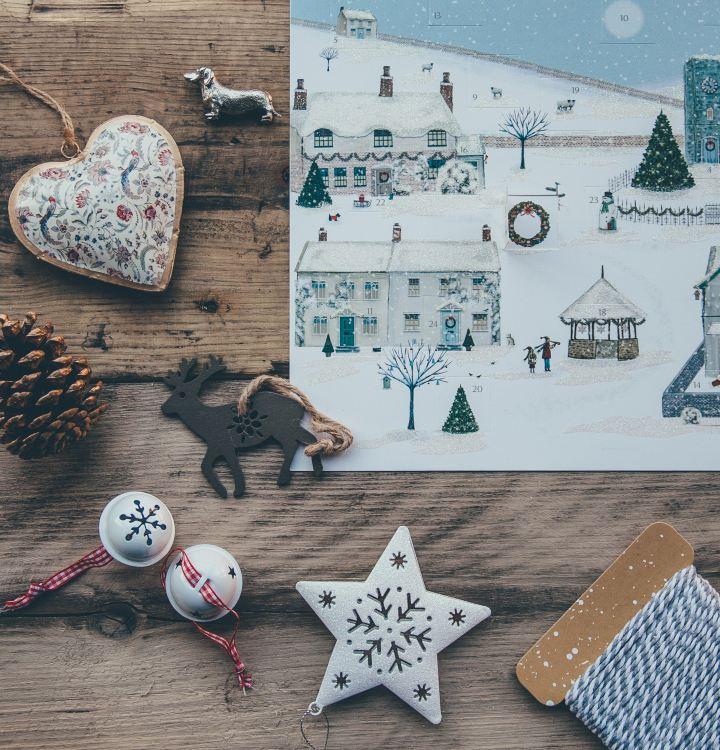 Miljövänlig julkalender